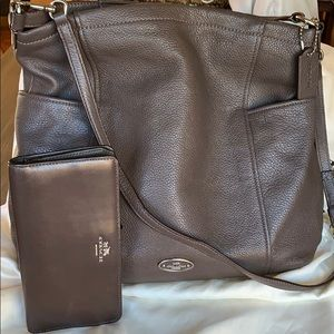 Coach Hobo bag with matching slim wallet